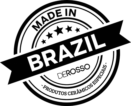 Made In Brazil - Selo De Rosso